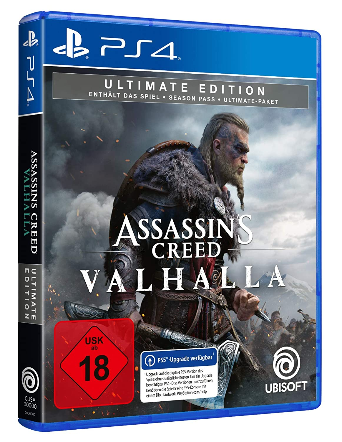 Assassin S Creed Valhalla Ultimate Edition Kostenloses Upgrade Auf Ps5 Uncut Playstation 4 Games