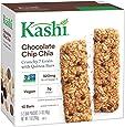 Kashi Crunchy Chia Bar, Chocolate Chip, 5-2 Bar pouches Net WT. 7 oz