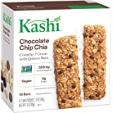 Kashi Crunchy Chia Bar, Chocolate Chip,0.7 Ounce,10 Count