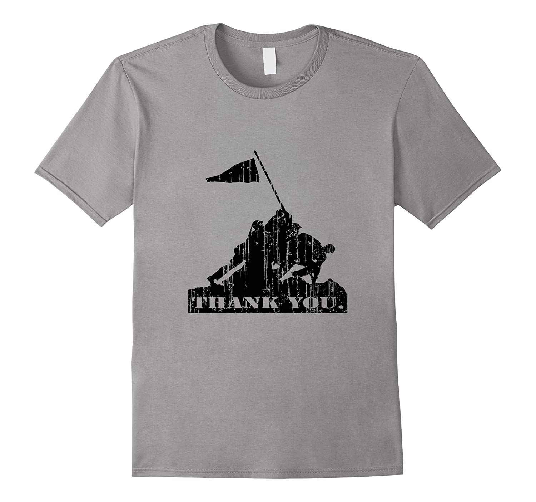 Thank you veterans T shirt Memorial Day