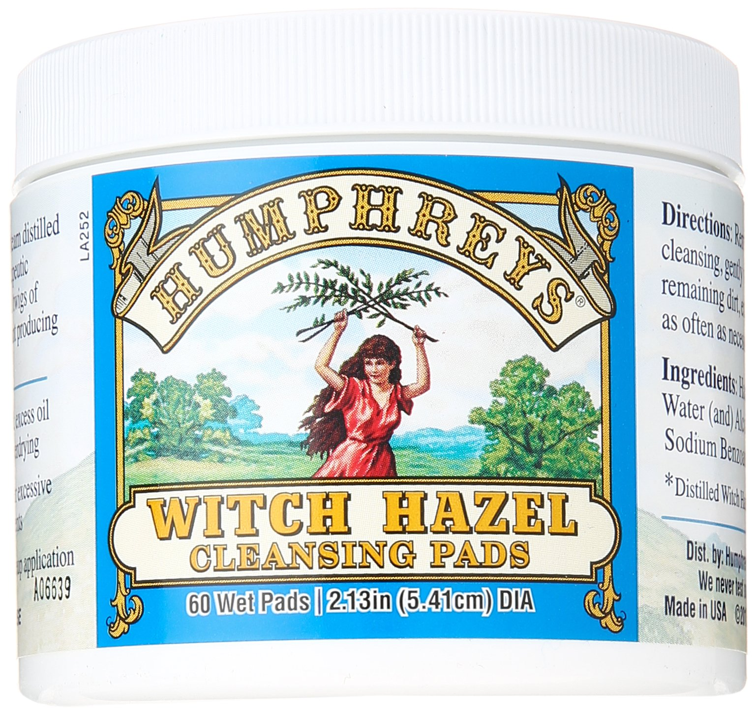 Humphrey's Witch Hazel Cleansing Pads