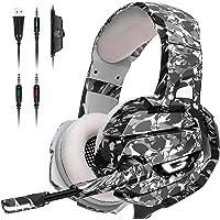 Audifonos Gamer Mabsi. Headset Gamer. Cancelación de ruido externo. Audífonos para videojuegos y consolas PS4, PS5, XBox…