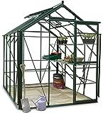 Hercules Trafalgar 6x8 Greenhouse package Green