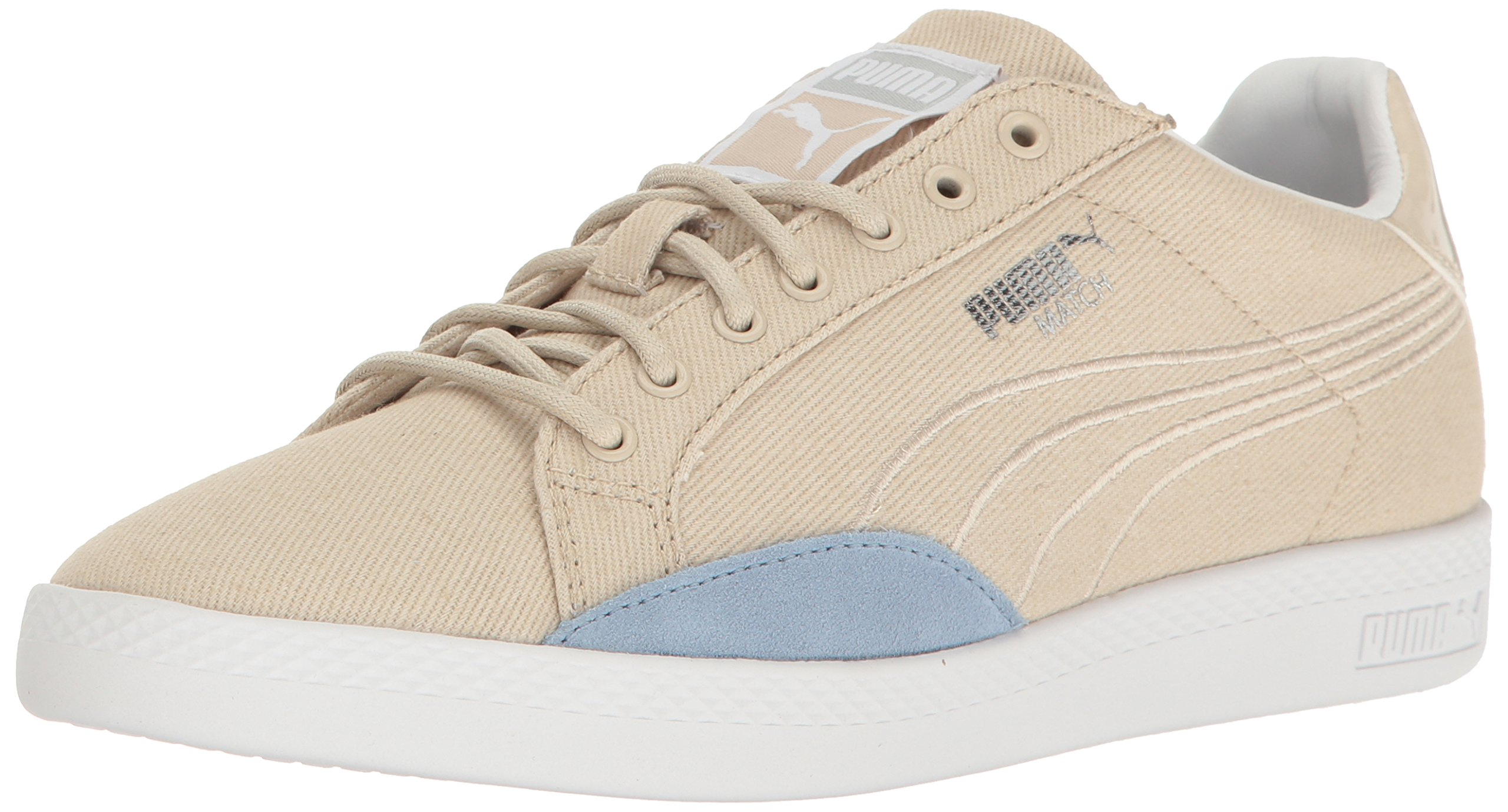 PUMA Women's Match Denim WN's Field Hockey Shoe, Oatmeal, 7 M US by PUMA