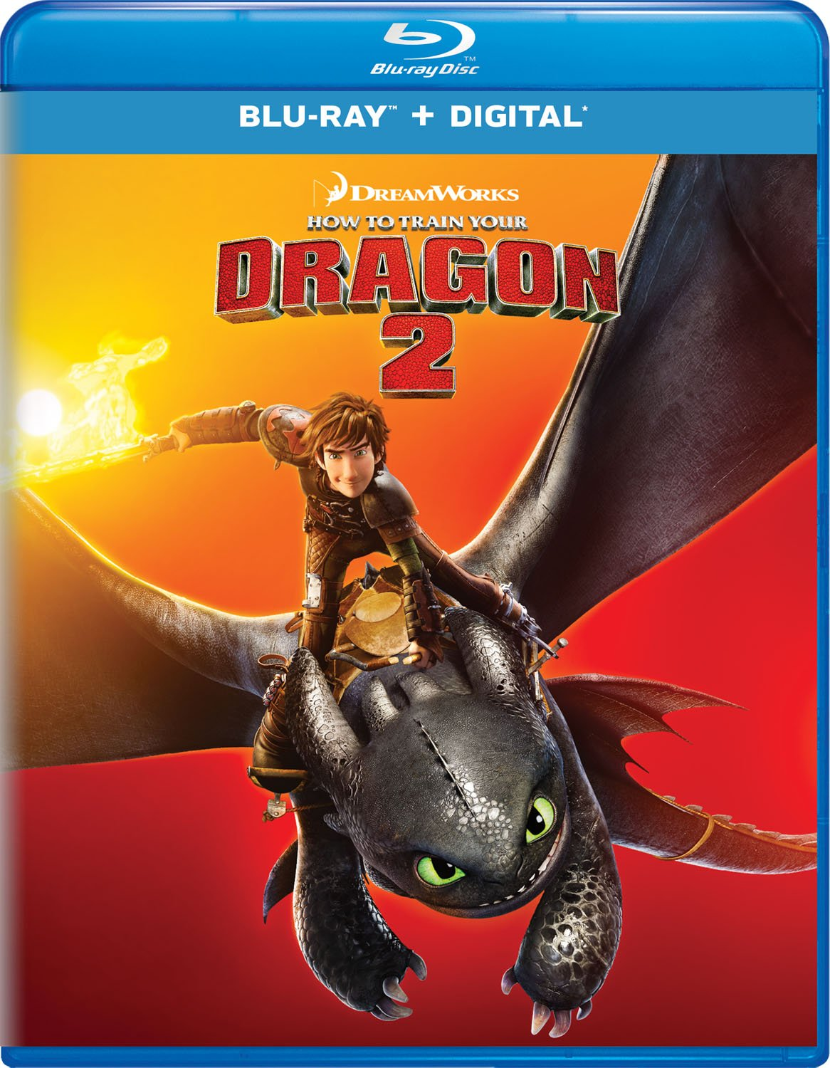 Blu-ray : How To Train Your Dragon 2 (Digital Copy)