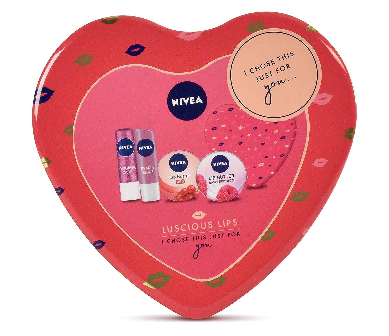 Set de regalo Nivea Luscious Lips Pack de regalo: Amazon.es: Belleza