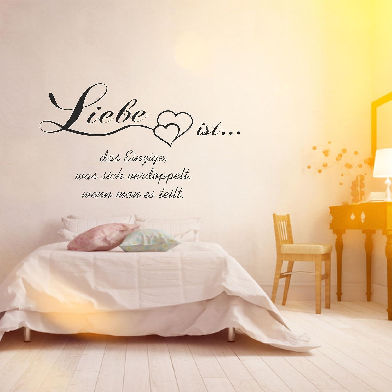 Wandtattoo Schlafzimmer Sprüche Liebe