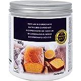 NortemBio Bicarbonate de Soude 900 g, Alimentaire. Qualité Supérieure, Développé en France.