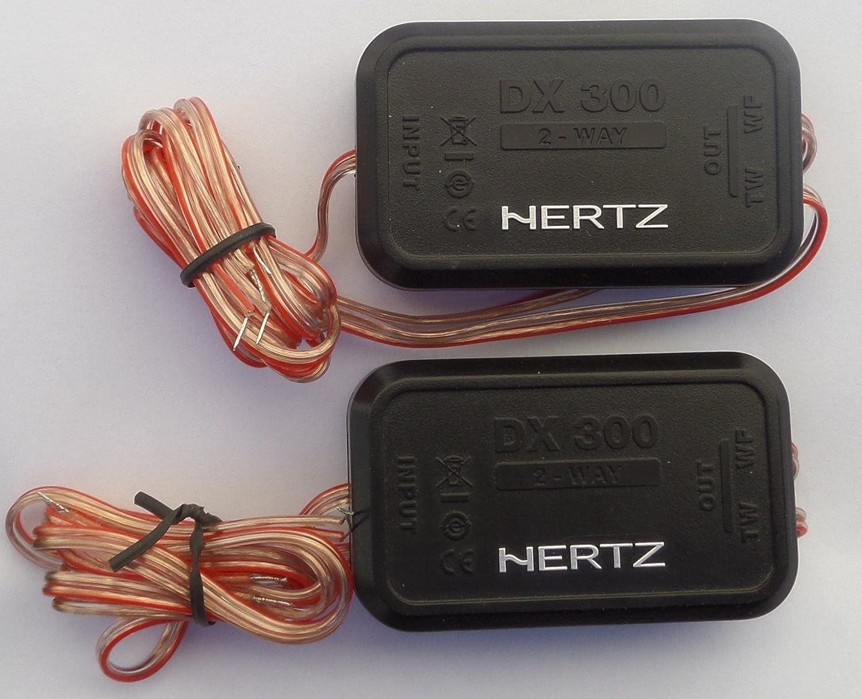 Hertz dx300 DEICI 60 RMS 3.5 KHZ 2 WayパッシブCrossovers (ペア) (dsk165 )   B06XHWHY19