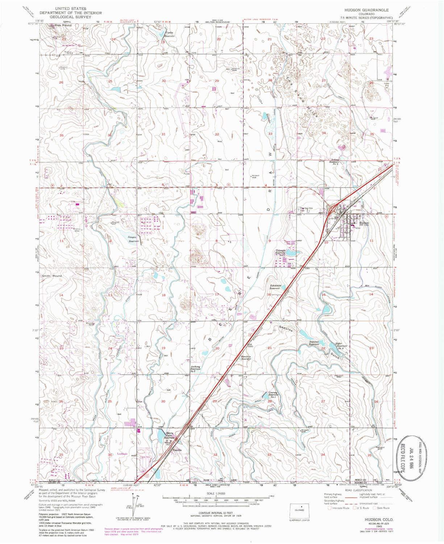 Amazon Com Yellowmaps Hudson Co Topo Map 1 24000 Scale 7 5 X 7 5