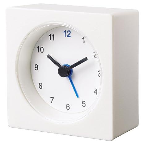 IKEA reloj despertador väckis de colour blanco