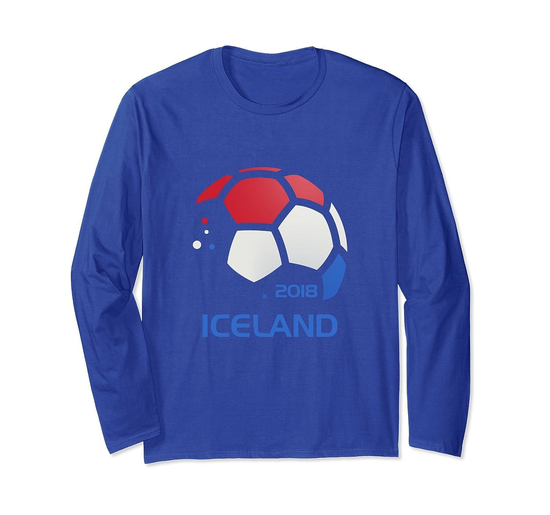 Iceland Soccer T Shirt - Futbol Fan Clothing Kids Adult-alottee gift