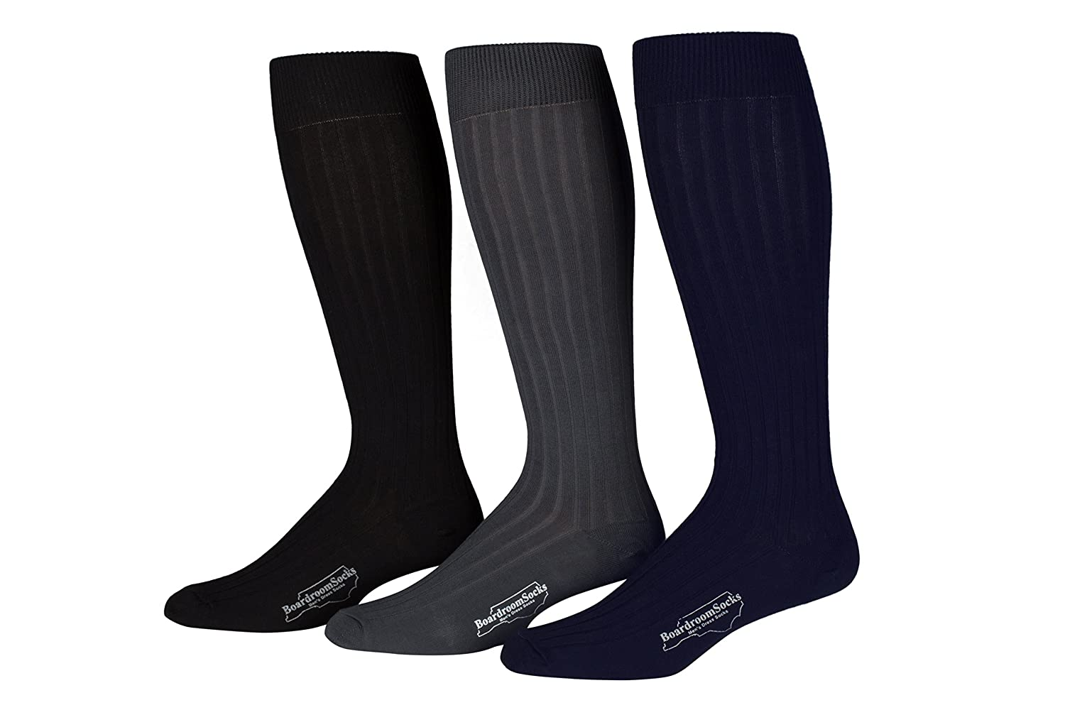 Boardroom Men's Over the Calf Dress Socks