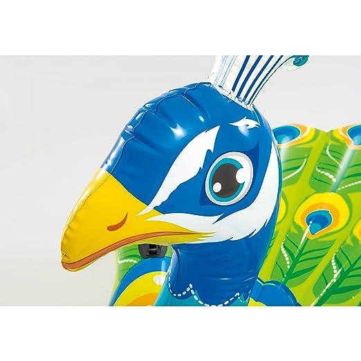 INTEX Figura Hinchable Pavo Real: Amazon.es: Juguetes y juegos