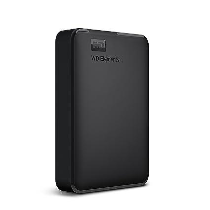 Western Digital Elements 4TB Portable External Hard Drive (Black)