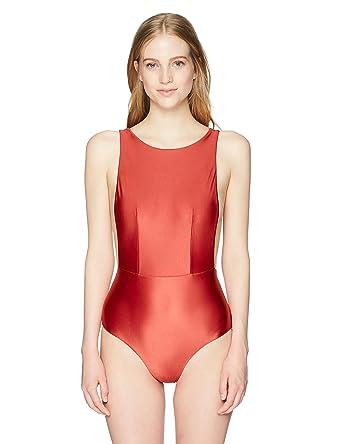 263afd5d8e Amazon.com: Roxy Women's Shiny Love One Piece Swimsuit: Clothing