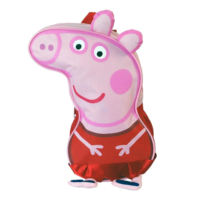 Hooray for Peppa Peppa Pig School Travel Kids Childrens Backpack Rucksack Travel