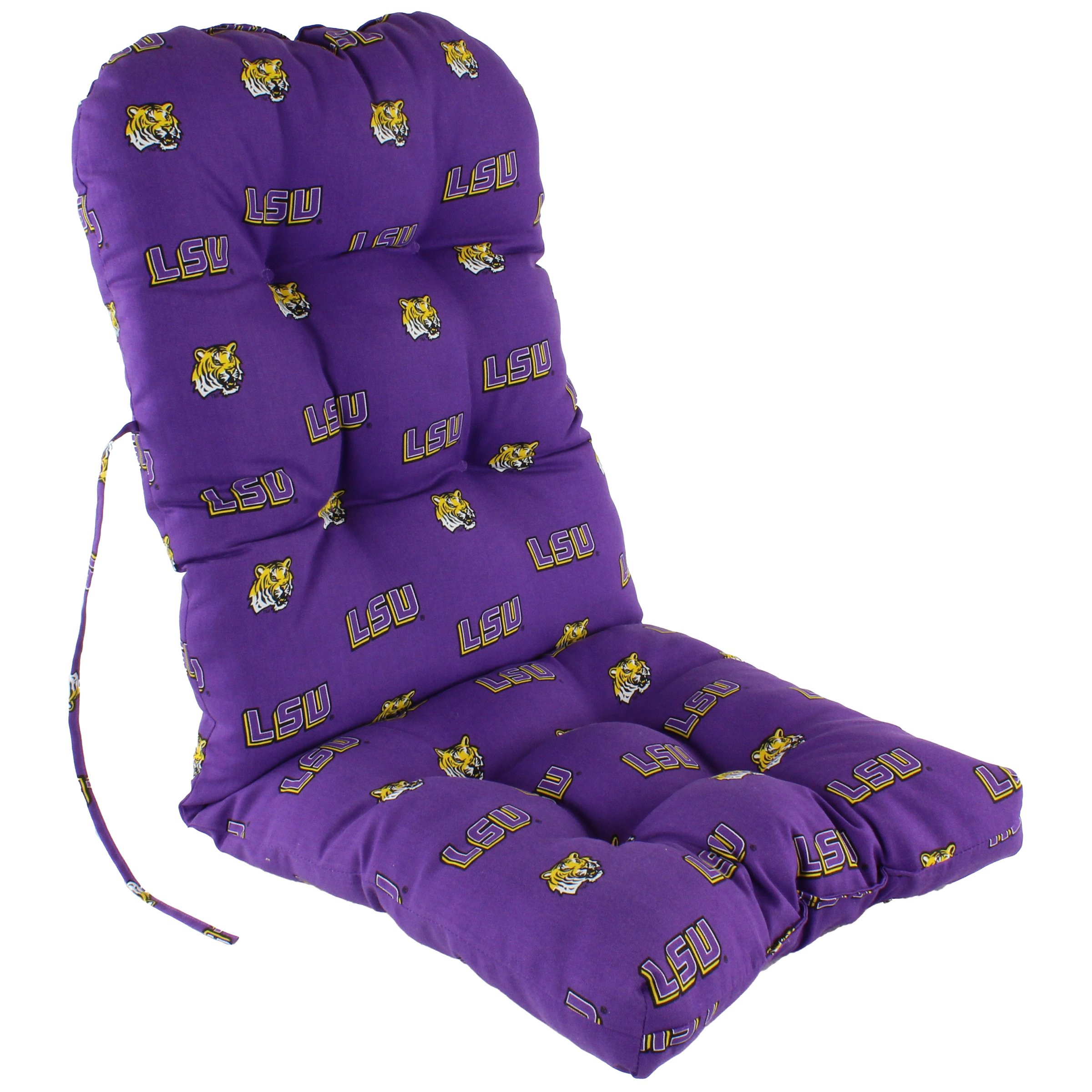 College Covers Louisiana State Tigers Adirondack Cushion