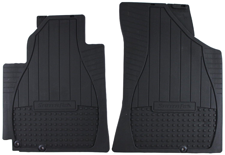Genuine Hyundai Accessories 2B014-ADU00 Front All Weather Floor Mat for Hyundai Santa Fe