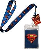 Lanyard with Charm DC Comics Superman Logo Lanyard