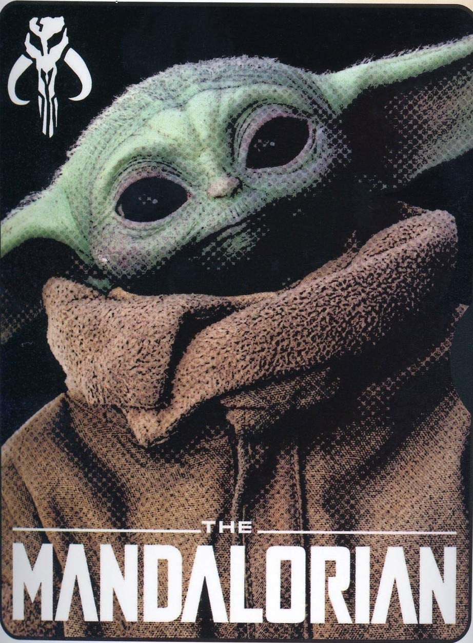 Star Wars Disney the Mandalorian Throw Blanket Child Yoda