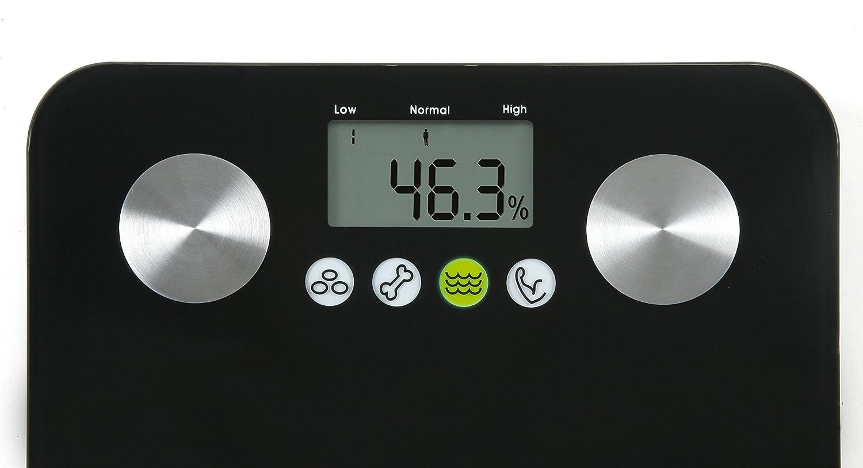 Salter 9106 BK3R - Báscula de baño con memoria,10 usuarios: Amazon.es: Salud y cuidado personal