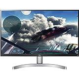 "LG 27UK600-W - Monitor de 27"" (UHD, 4K, 3840 x 2160 Pixeles, 5 ms, Brillo 450, HDR 10, Screen Split) Blanco y Negro"