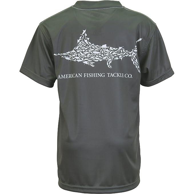AFTCO Youth Jigfish Performance Boys Fishing Sun Shirt-Pick Color//Size-Free Ship