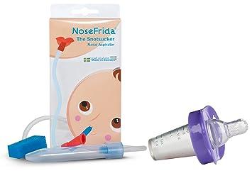 Amazon.com: Nosefrida aspirador nasal con chupete ...
