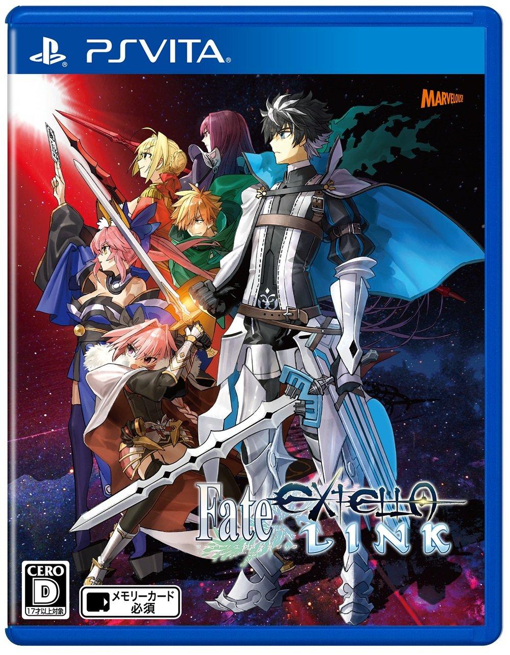 Amazon com: Fate/EXTELLA LINK - PSVita Japanese ver : Video Games