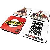 Big Bang Theory Coaster Set (4-Piece)