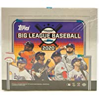 $36 » 2020 Topps Big League Baseball Hobby Box (18 Packs/10 Cards)