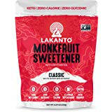Lakanto Monk Fruit Sweetener, Classic, 8.29 oz