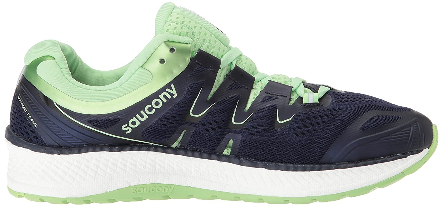 Saucony Women's Triumph Iso 4 Running US|Navy/Mint Shoe B072JTVWVM 8 B(M) US|Navy/Mint Running 7fc472