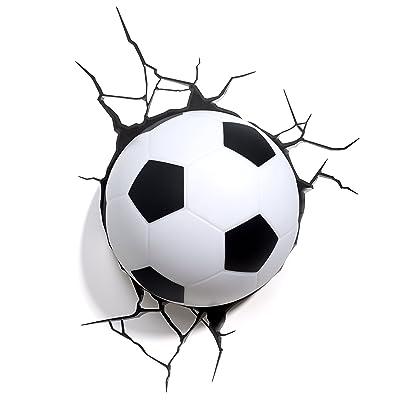 3DLightFX Sports Soccer Ball 3D Deco Light: Toys & Games