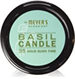 Mrs. Meyer's Soy Candle, Basil, 7.2 Ounce