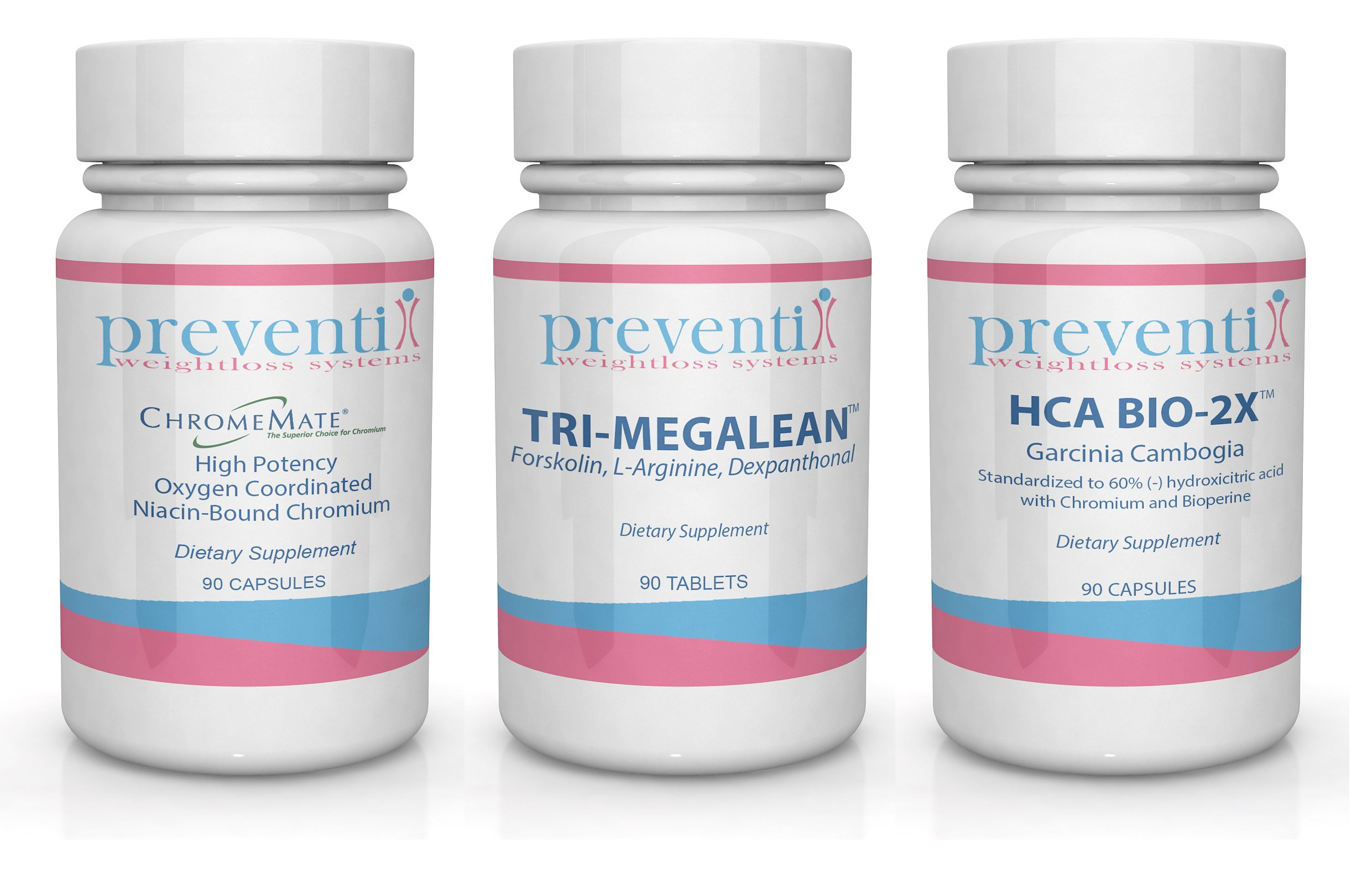 Phase 2: Rapid Weight Loss 3 Pack Bundle Formulated and Used by Bariatric Physicians to Block Carbohydrates and Acclerate Fat Burning