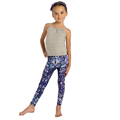 f5fbd6daab1a4 Image Unavailable. Image not available for. Color: MONASITA Girls Print  Leggings for Active Kids (Multicolor ...