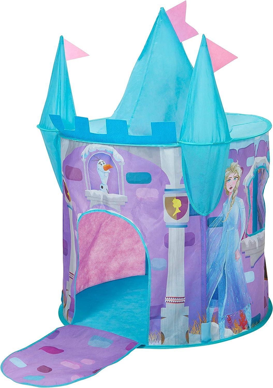 Disney- Castillo de Tela desplegable de Frozen (Moose Toys 167FZO)