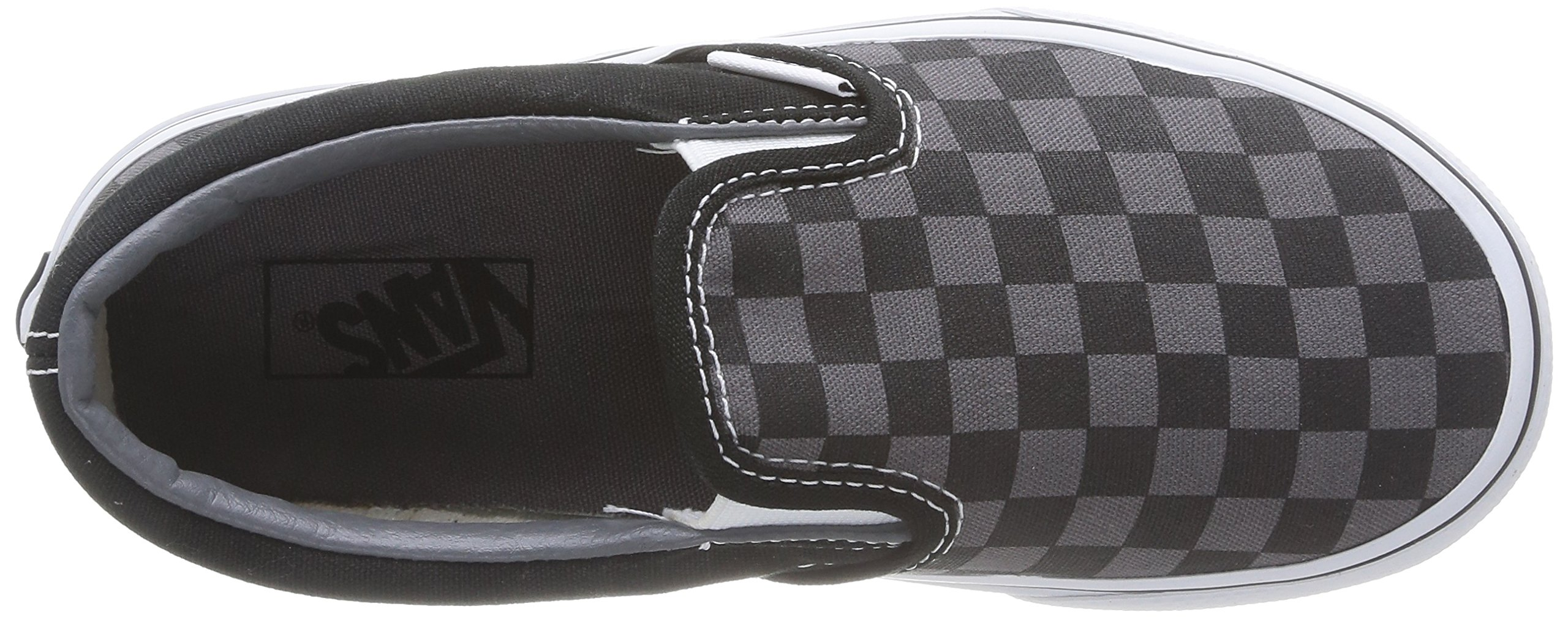 a50588d8ea Vans Boys  Checkerboard Classic Slip-On