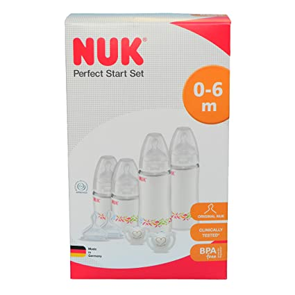 NUK Perfect Start Newborn Starter Set: Amazon.es: Bebé