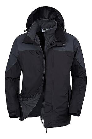 Termoselladas 3 Para Transpirable En1 Con Mountain Chaqueta Costuras Warehouse Chubasquero Impermeable Storm Informal Abrigo Hombre aTtTSOqw