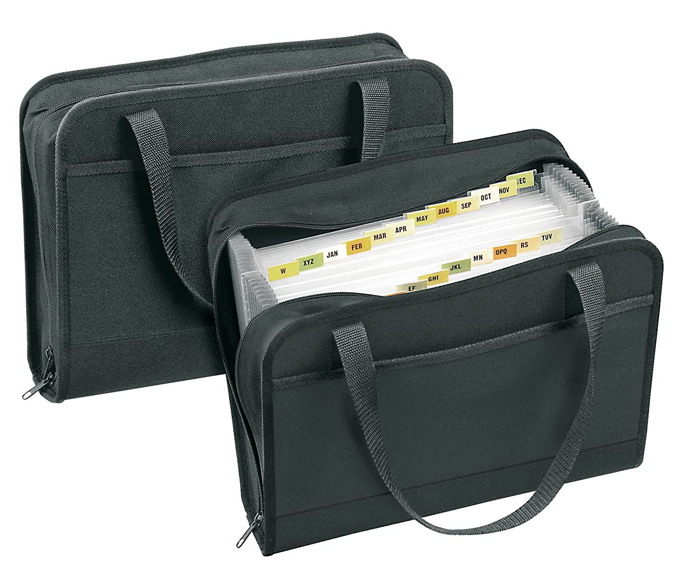 Veloflex 4446880 - - - Carpeta acordeón (tamaño A4, con 24 compartimentos, capacidad aproximada de 500 hojas) 5c8e36