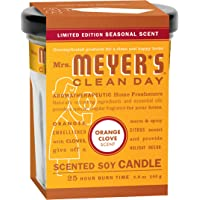 2-Pack Mrs. Meyers Clean Day Candle Orange Clove (4.90-Ounce)