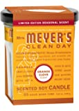 Mrs. Meyers Clean Day Candle - Orange Clove , 4.90-Ounce (Pack of 2)