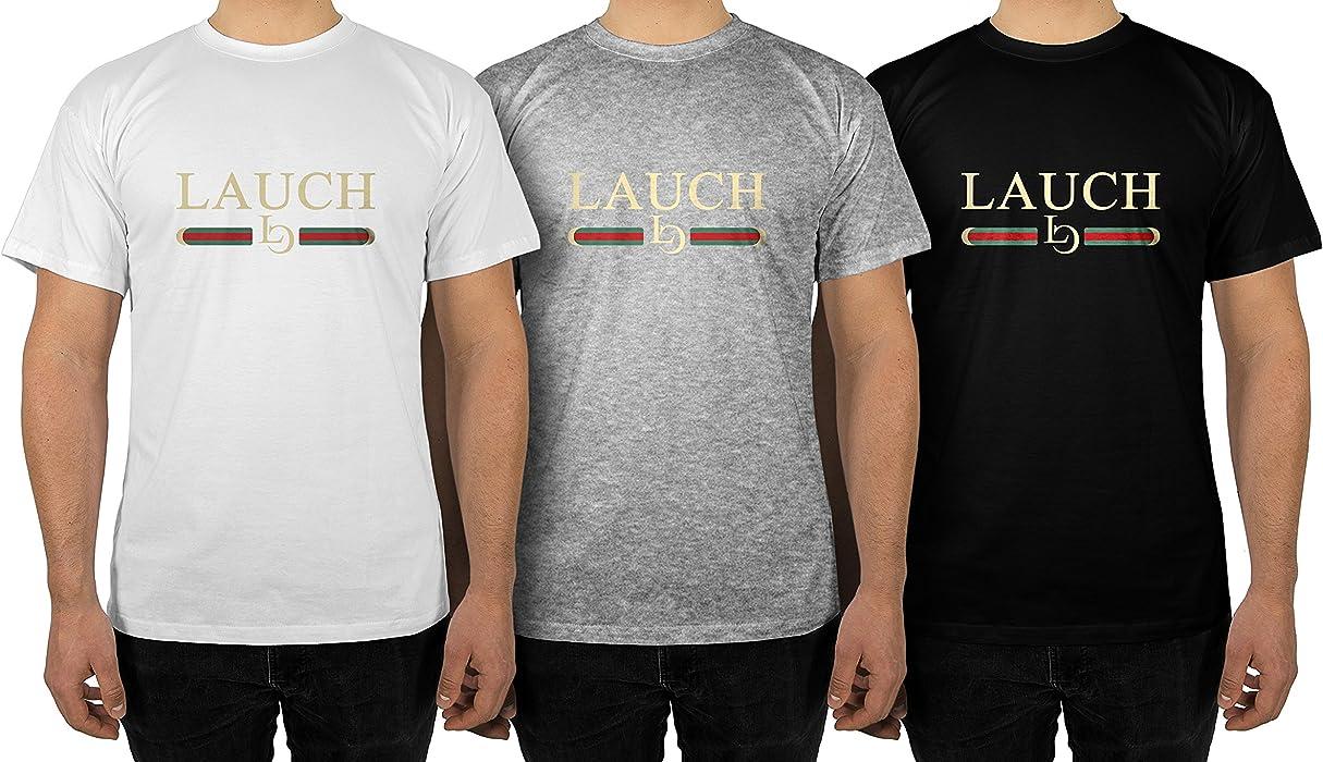 d17048750318 Männer T-Shirt mit Aufdruck in Grau Gr. S Lauch Gang Member Design ...