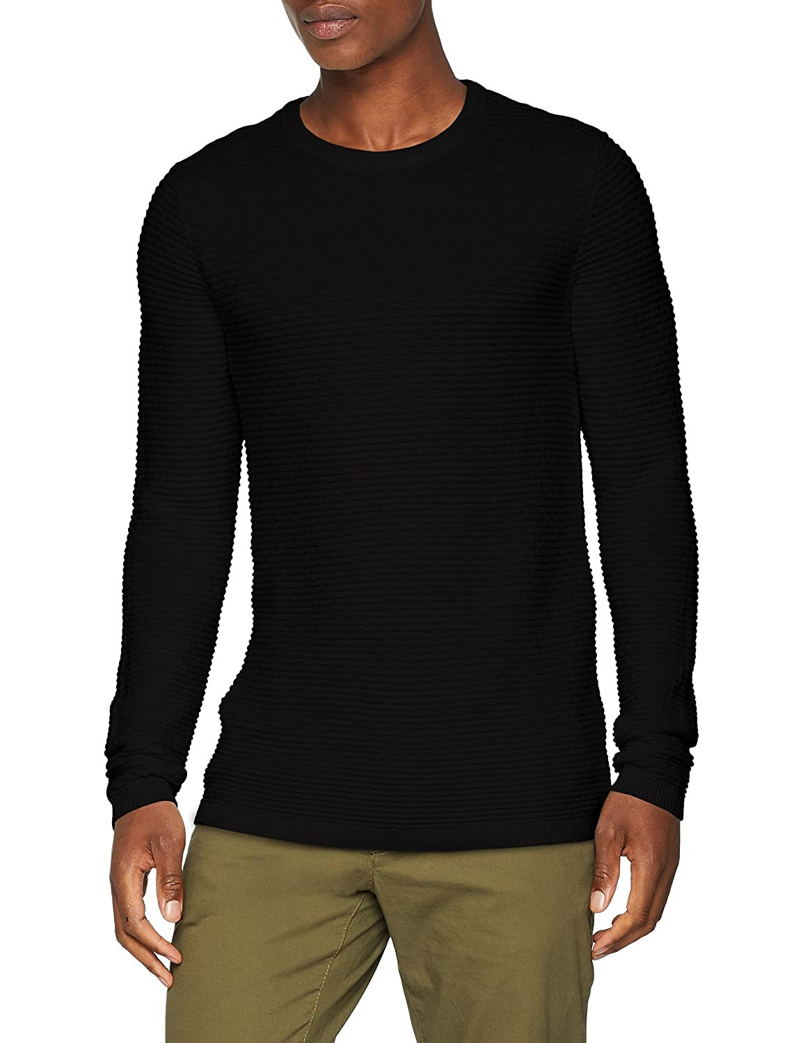 SELECTED HOMME Slhnewdean Crew Neck W Noos, suéter para Hombre