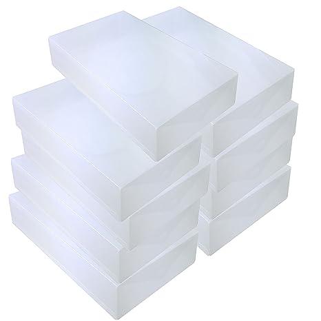 3x DynaSun PP436 Schuhbox Schuhkasten Box Schuhschachtel x Stiefel Damen Herren