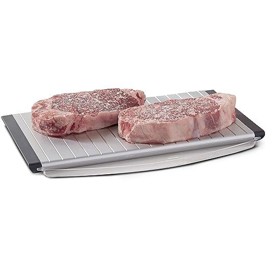 SHARPER IMAGE Bandeja descongelante para descongelar carnes ...