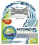 Wilkinson Sword Hydro 5 Sensible Razor Blades – Cuchillas de afeitar (4 unidades)